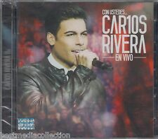 1 CD / 1 DVD Carlos Rivera CD Con Ustedes En Vivo 888750373021 BRAND NEW