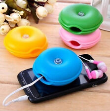 New Turtle Headphone Earphone Winder Wrap Wire Box Cord Cable Organizer Holder