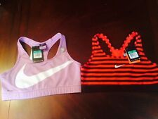 2 New Womens Nike Dri-Fit Training Athletic Sport Bras Size XL $75