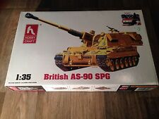 1/35 Hobby Craft / Trumpeter British AS-90 SPG 155mm #HC6004