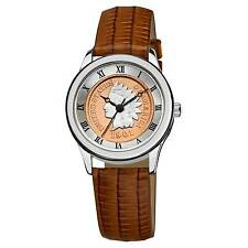August Steiner Women's Indian Head Penny Collectors Silver Coin Watch