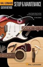 Hal Leonard Method Guitar Setup & Maintenance Repair Maintain Manual Book