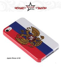 Apple iPhone 4/4S Cover Case Hülle Russland Russia Fahne Wappen Flagge Putin