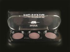 Make Up For Ever Artist palette 3 pan empty palette for refill shadows/blush NIB