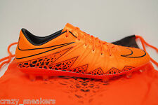 NIKE HYPERVENOM PHINISH FG ACC TOTAL ORANGE UK 7 EUR 41 US 8 BNIB 749901-888