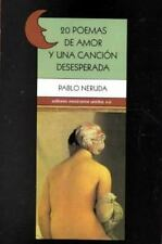 20 poemas de amor y una cancion deseperada / 20 Poems Desperate Song-ExLibrary