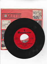 CHUCK REED -ROULETTE 4020 TEEN ROCK 45 SUGAR CORSAGE  VG++