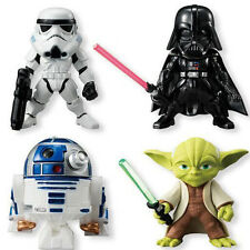 4Pcs Star Wars Darth Vader /R2-D2 /Yoda/Stormtrooper 3''Action Figure Collection