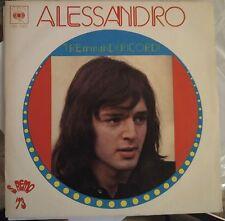 Alessandro-Tre Minuti Di Ricordi / La Verde Panca 45 giri Sanremo 1973 NM/NM