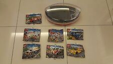 2015 Shell V-Power Lego Collection - 7 polybags & 1 display case