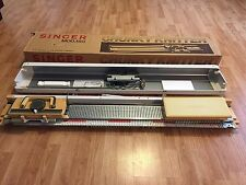 Singer Knitting Machine Chunky Knitter Mod. 150 In Original Box + Accessories