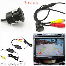 Wireless 2.4G Receiver Transmitter+Car Reverse Parking HD Camera With Drill Kits