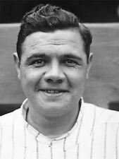 VINTAGE SPORT PHOTOGRAPHY BABE RUTH BASEBALL LEGEND POSTER ART PRINT LV11457
