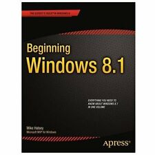 Beginning Windows 8. 1 by Mike Halsey (2013, Paperback, New Edition)