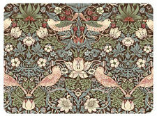 Pimpernel Strawberry Thief Brown Placemats Set of 6 William Morris Table Mat New