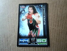 Carte - Catch  Topps Slam Attax 2008 - ECW - Super Crazy