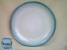 "New Denby Intro Light Blue Side Plate 8.25"" dia Several Available"