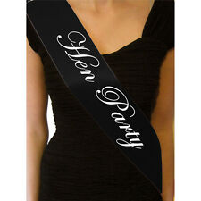 Accessories Party Black Hen Night Sash Bride Sashes Girls Night Out New Elegant