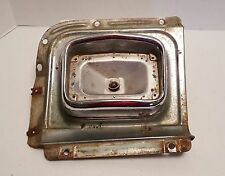 1956 Chevy RH Turn Signal Parking Light Bezel and Right Trim Panel 56 GM