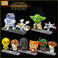 Star Wars Mini Figure Gift LOZ Diamond Nano Blocks Toy DIY Mini Buliding Set
