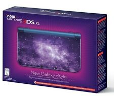 New Nintendo 3DS XL Galaxy Style - brand new PLUS new charger