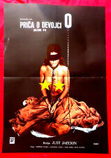 STORY OF O 1975 HISTOIRE D'O SEXY CORINNE CLERY UDO KIER UNIQU EXYU MOVIE POSTER