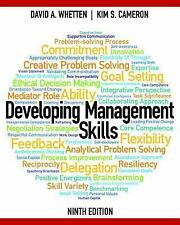 Developing Management Skills by David A. Whetten and Kim S. Cameron (2015,...