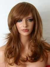 Light Brown Auburn Ginger Wig Fashion full hair wig party Lady Ladies Wig F10