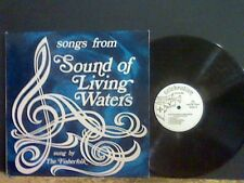THE FISHERFOLK  Sound of Living Waters   LP  Fem Vox  Private Jesus etc  RARE !!