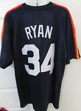 MLB 1980 Houston Astros Nolan Ryan #34 Jersey Mitchell Ness Sz 50 $300 NWT New