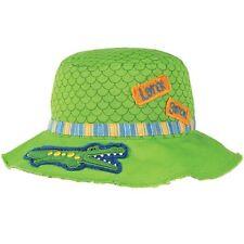 Stephen Joseph Chicos Cocodrilo Cubo Sombrero De Sol Para Niños / CHILDS Playa Sombreros