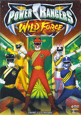 Power Rangers Wilde Force : coffret 2 - 20 episodes (4 DVD)