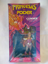 Mattel GLIMMER Princess of Power Mexico MIB PRINCESAS DEL PODER Los Amos MOTU !!