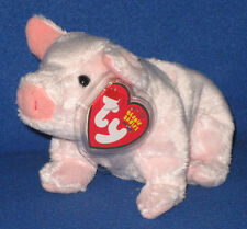 TY LUAU the PIG BEANIE BABY - MINT with NEAR MINT TAG - SEE PICS