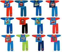 BOYS KIDS CHILDREN MICKEY MOUSE SUPERMAN BATMAN PYJAMAS NIGHTWEAR PJS TODDLER SZ