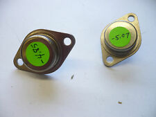 LAMBDA SEMICONDUCTORS TO-3 NEGATIVE REGULATOR 5V 1.5A 2 PIECES NOS LAS1805