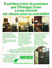 PUBLICITE ADVERTISING 094  1973  PHOTOGAY 2000  photocopieur offset bureau