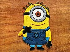 Despicable Me Minion Patch Iron On Badge Patch Embroidered Iron Or Sew Kids.#1
