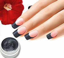 "5ml UV Farbgel ""Silber Dunkel"" Nr.22  Colorgel, Studioqualität von BC-Top-Nails"