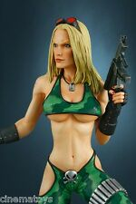 Heavy Metal Alien Marine Girl Super Sexy Statue Hollywood Collectible Statue 14
