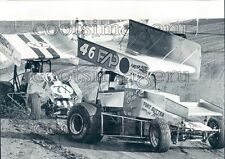 1982 Auto Racing Dragsters 1980s Skagit Speedway Burlington WA Press Photo