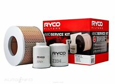 RYCO AIR OIL FUEL 4WD FILTER KIT for TOYOTA Landcruiser HDJ79 01-07 1HD-FTE 4.2L