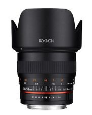 New Rokinon 50mm F1.4 AS IF UMC Full Frame Lens for Sony E-Mount 50M-E