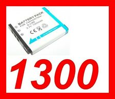 "★★★ ""1300mA"" BATTERIE Lithium ion ★ KODAK Playsport ZX3  ZX5 / KLIC 7004"