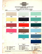 1955 PLYMOUTH BELVEDERE SAVOY PLAZA 55 PAINT CHIPS RINSHED MASON 2