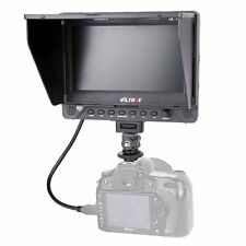 7'' Viltrox DC-70 EX HDMI AV Camera Video LCD HD Monitor for Canon Nikon DSLR