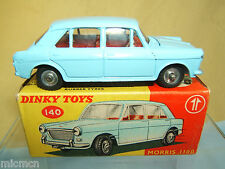 DINKY TOYS MODEL No.140 MORRIS 1100 SALOON       VN MIB