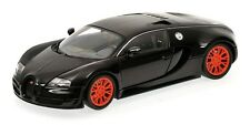 Minichamps 100-110842 2011 Bugatti Veyron Super Sport Black Metallic 1:18 Scale