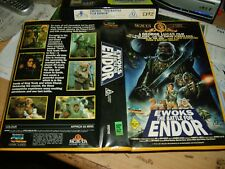 Betamax *Star Wars-Ewoks the Battle for Endor* RARE Australian MGM/UA 1st Issue!