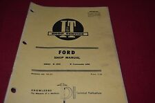 Ford 6000 Commander 6000 Tractor I&T Tractor Shop Manual DCPA6